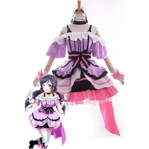 Love Live! Kira-Kira Sensation Nozomi Tojo Anime Cosplay Costumes Stage Dresses