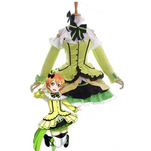 Love Live! Kira-Kira Sensation Rin Hoshizora Anime Cosplay Costumes Stage Dresses
