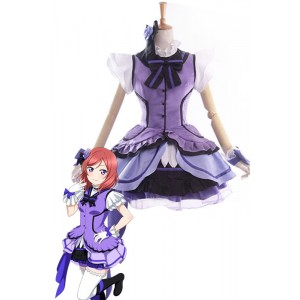Love Live! Maki Nishikino Anime Cosplay Costumes Stage Dresses