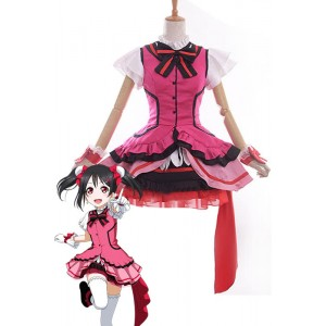 Love Live! Nico Yazawa Anime Cosplay Costumes Stage Dresses