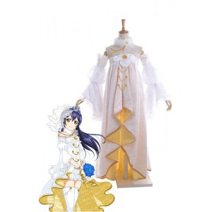 Love Live! Umi Sonoda Anime Cosplay Costumes Wedding Dresses