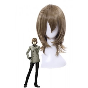 Persona 5 Goro Akechi shorts ynthetic men cosplay wigs