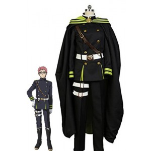 Seraph of the End Shiho Kimizuki Uniform Cosplay Costume