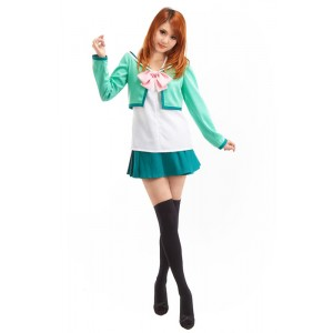 The Prince of Tenni Seigaku Girls Winter School Uniform Cosplay Costume