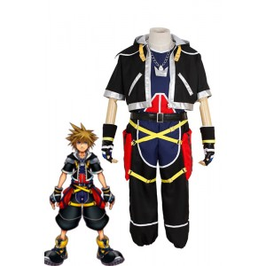 Kingdom Hearts Cosplay Costume - Sora 3th Ver