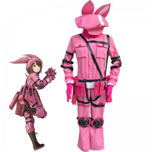 Sword Art Online Alternative Gun Gale Online Kohiruimaki Karen Cosplay Costume