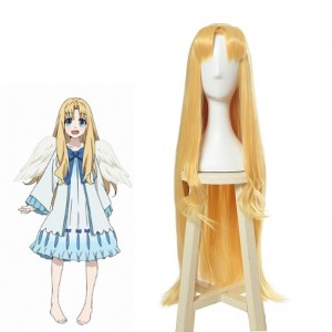 Tate no Yuusha no Nariagari Filo Blonde Long Cosplay Wigs
