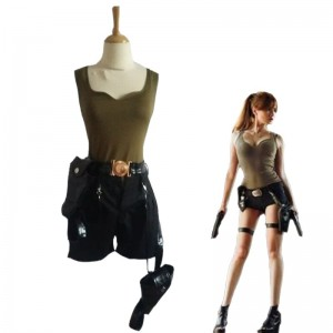 Tomb Raider  Lara Croft Adult Cosplay Costume