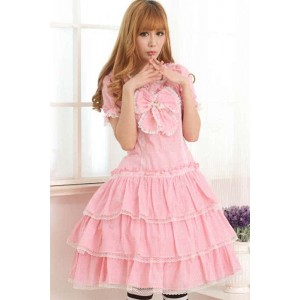 Lolita Dress Style Cotton Princess jumper skirt , Special Price $42.99 (was $77.40)