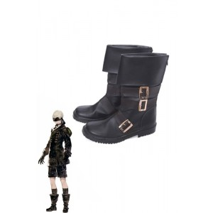 Video Game Nier Mechanical Era Game Yohar 9-S Type S Cosplay Boots