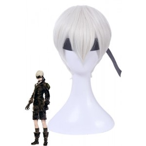 Video game Nier mechanical Era Game YoRHa No.9 Type S Cosplay Wigs