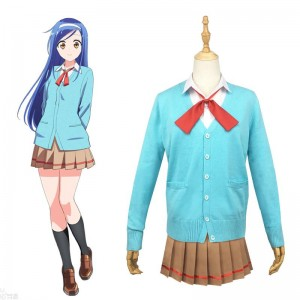 We Never Learn! Bokuben Furuhashi Fumino Uniform Cosplay Costume