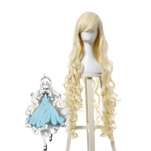 Kagerou Project Marry Kozakura Long Cosplay Wigs Blonde Wavy Hair
