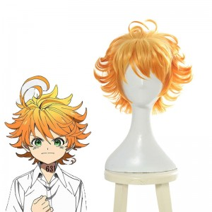 Yakusoku no Neverland Emma Blond Curly Wigs