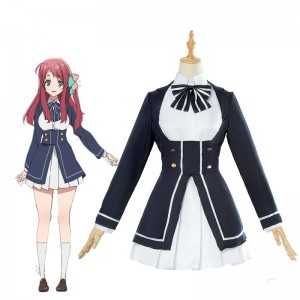 ZOMBIE LAND SAGA Minamoto Sakura Uniform Cosplay Costume