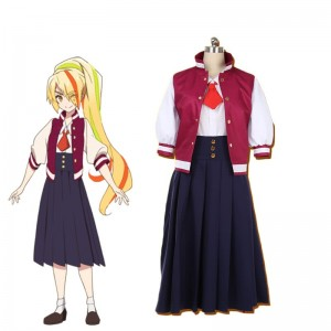 ZOMBIE LAND SAGA Nikaido Saki Full Sets Cosplay Costume