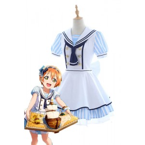 Love Live Pirate Set Rin Hoshizora Cute Dress AnimeCosplay Costumes