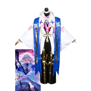 FateGrand Order Merlin Magus of Flowers Anime Cosplay Costumes