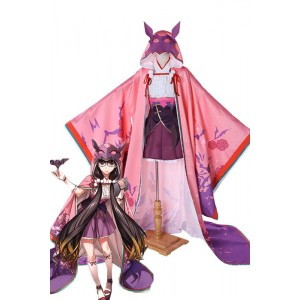 Fate Grand Order Osakabe-hime Anime Cosplay Costumes