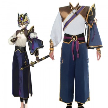 Fate/Grand Order Servant Lang Lin Wang Cosplay Costume Full Sets