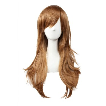 65cm Brown Curly Hitman Reborn Bianchi Cosplay Wig