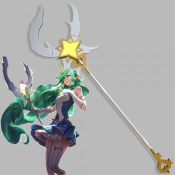 LOL Magical Girl Soraka Walking Stick Cosplay Props