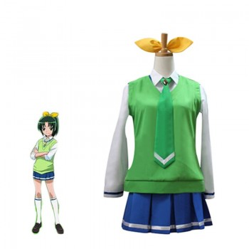 Fresh Pretty Cure! Midorikawa Nao Cosplay Costume