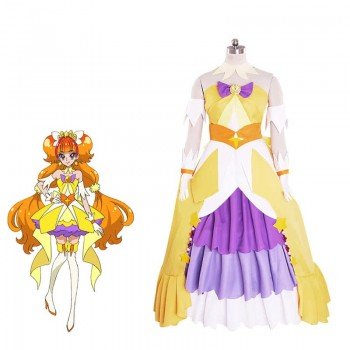 Fresh Pretty Cure! Amanogawa Kirara Cosplay Costume