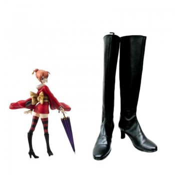 Gintama Kagura Leader Cosplay Shoes Boots