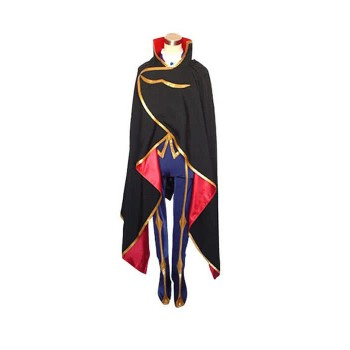 Code Geass Lelouch of Britannia Zero Cosplay Costume Custom Made