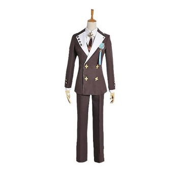 Amnesia Ikki Kent School Uniform Cosplay Costume