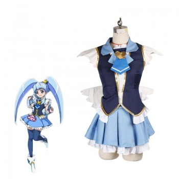 Fresh Pretty Cure! Shirayuki Hime Cosplay Costume