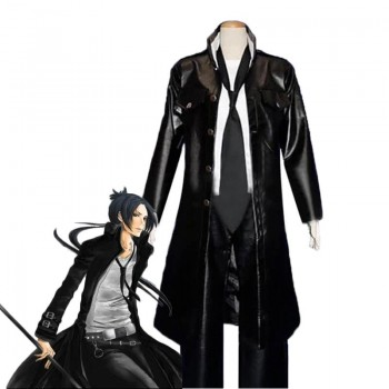 Hitman Reborn Rokudo Mukuro Leather Cosplay Costume Custom Made