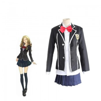 Guilty Crown Kuhouin Arisa School Female Uniform Cosplay Costume