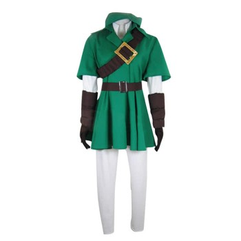 The Legend of Zelda Link Costume Costume