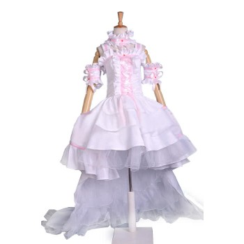 Chobits Chii Cosplay Costume Anime Princess White