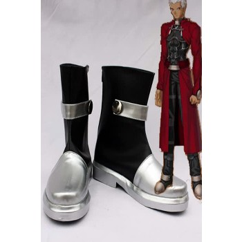 Fate/Stay night Archer Silver Cosplay Shoes Boots Custom-made
