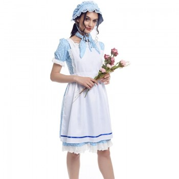 Pioneer Costume Pioneer Girl Child Pioneering Festival Costume Blue Hat