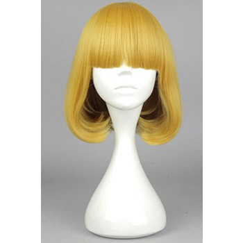 35cm  Golden Yellow Prison School Midorikawa Hana Cosplay Wigs