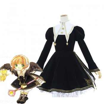 Cardcaptor Card Captor Sakura Kinomoto Lolita Dress Cosplay Costume