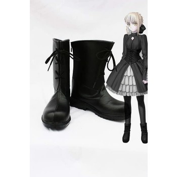 Fate/Stay Night Saber Black Saber Cosplay Shoes Boots 3