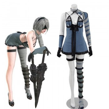 Action Role-Playing Video Game Nier: Automata Game 2b YoRHa No.2 Type B Dlc Cosplay Costume