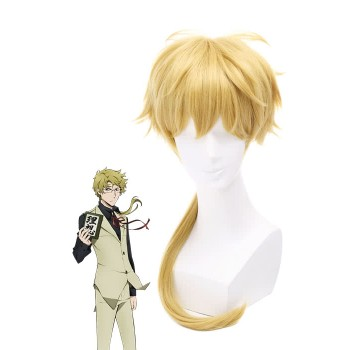 Bungou Stray Dogs Doppo Kunikida Gold Cosplay Wigs