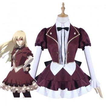 Calamity Of A Zombie Girl Euphrosyne Studion Anime Cosplay Costume