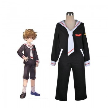Cardcaptor Sakur Clear Card Shaoran Li School Uniform Cosplay Costume