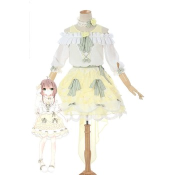 Cardcaptor Sakura Clear Card-hen Sakura Kinomoto Anime Cosplay Costumes Cute Girl Dresses
