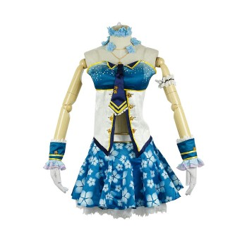 Lovelive! Eli Ayase Costumes Sexy Wedding Party Dress Costume