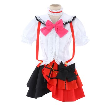 LoveLive! Lop1 Nico Yazawa Cosplay Costumes Stage Dresses