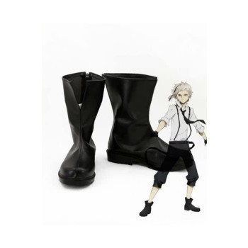 Bungou Stray Dogs Atsushi Nakajima Customized Anime Cosplay Shoes Boots