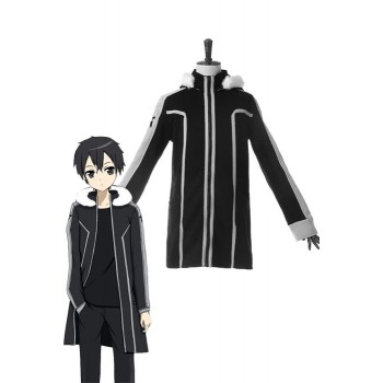 Sword Art Online Game Kirigaya Kazuto Coat Cosplay Costume